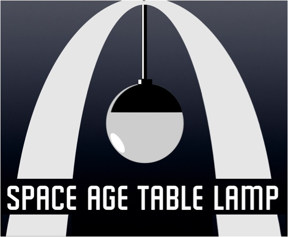 space age lamp