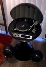 1970 Electrohome Apollo 862 Record Player With Custom Fiberglass Base